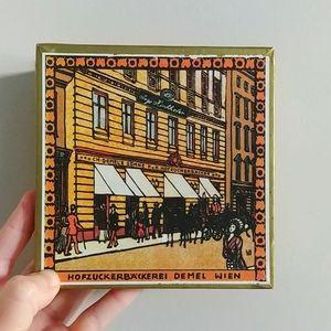 4/$15 - vintage Demel candy box
